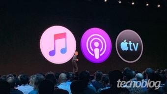 macOS Catalina decreta fim do iTunes e usa iPad como segunda tela