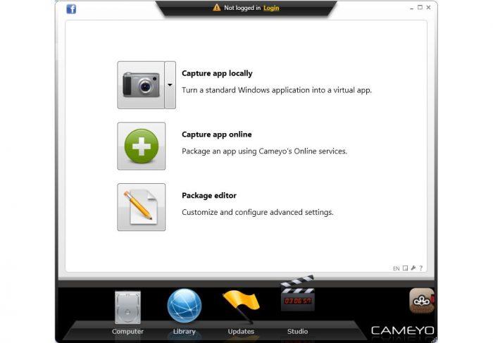 Cameyo / portable apps
