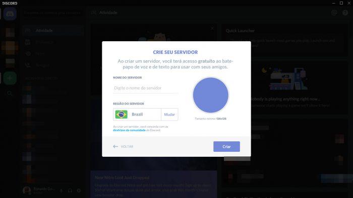 Discord / Como criar um servidor no Discord