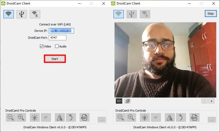 Desktop / Droicam / como usar o celular como webcam