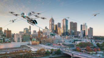 Uber Air ganha novo conceito de veículo voador feito pela Embraer