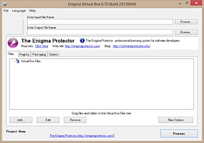 Enygma Virtual Box / portable apps