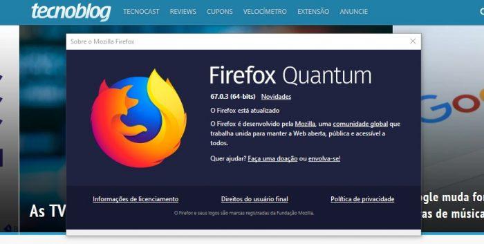 Firefox 67.0.3