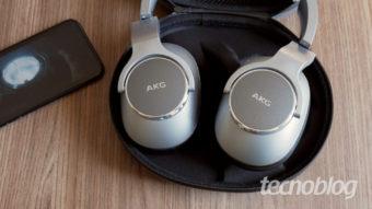 AKG N700NC: um fone com cancelamento de ruído mais neutro