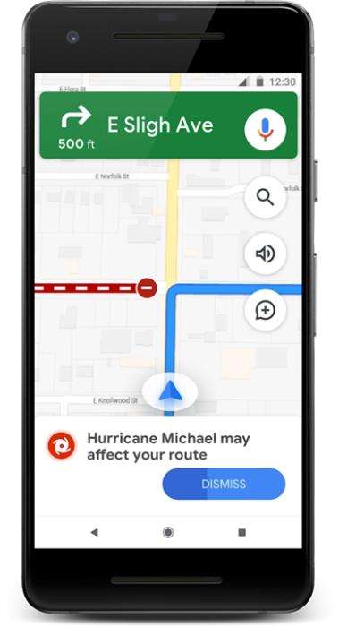 Google Maps - SOS Alert