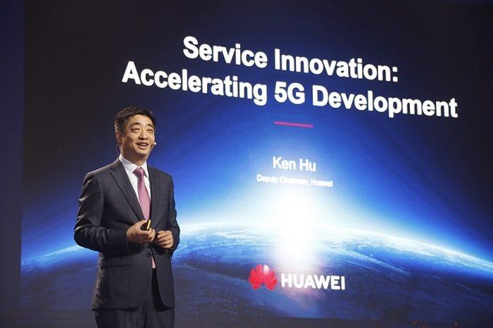 Ken Hu, vice-presidente da Huawei