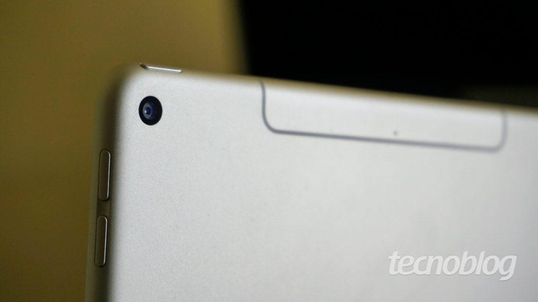 Câmera do iPad