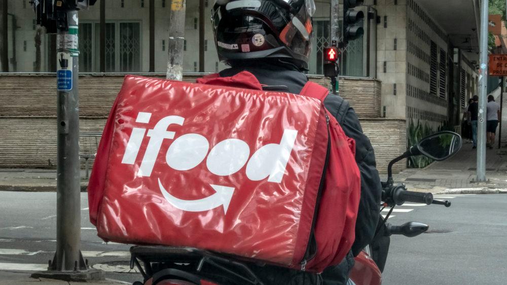 Entregador do iFood (Imagem: divulgação/iFood)