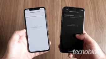 Como ativar modo escuro no iOS [iPhone, iPad ou iPod touch]