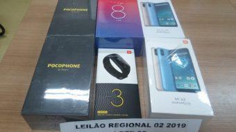Leilão da Receita Federal tem celulares da Xiaomi, iPhones, consoles e mais