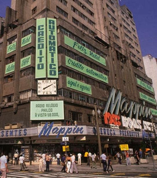 Mappin na década de 1980