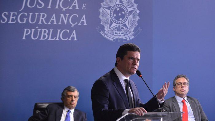 Sergio Moro, ministro da Justiça e Segurança Pública (Foto: Isaac Amorim/MJSP)
