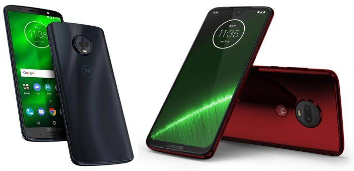 Motorola / Moto G6 Plus e Moto G7 Plus