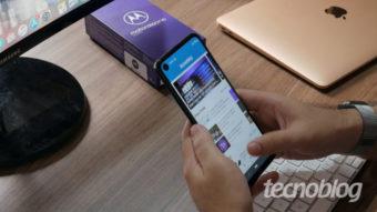 Motorola One Vision: vendo melhor no escuro