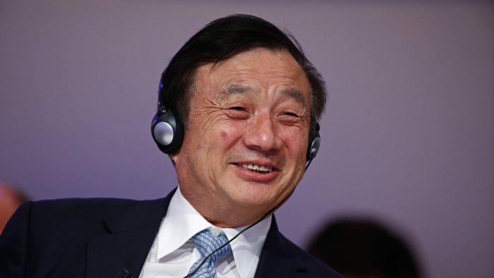 Ren Zhengfei, CEO e fundador da Huawei