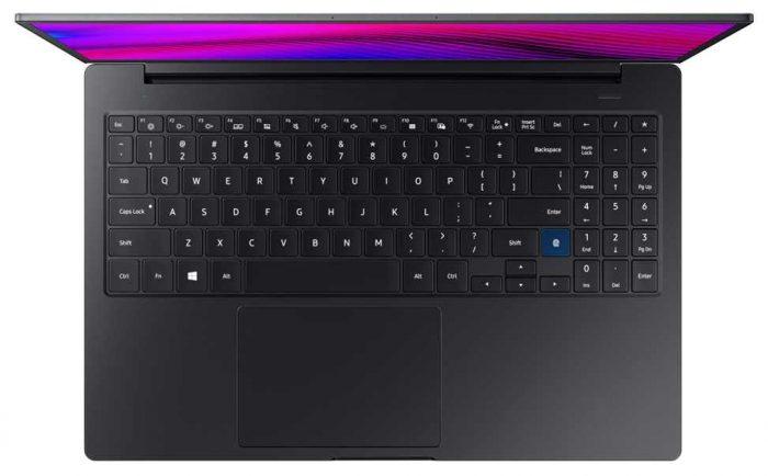 Samsung Notebook 7 Force - teclado