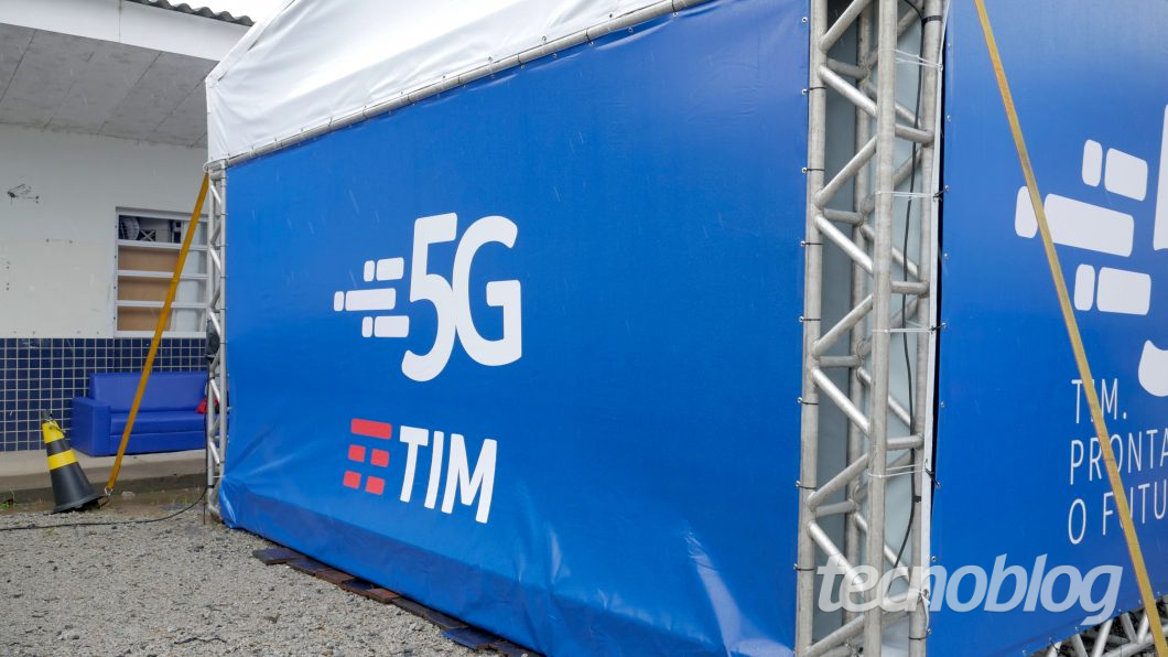 TIM 5G (Foto: Paulo Higa)