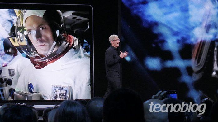 Tim Cook na WWDC 2019 (Foto: Paulo Higa)