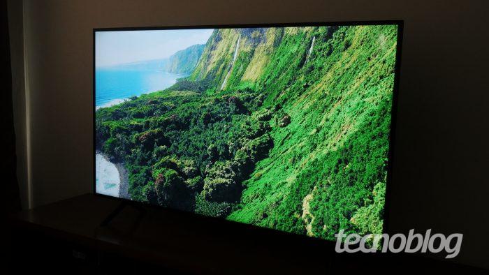 TV 4K Samsung RU7100 - Review