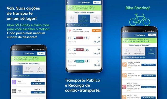 Android / VAH / preço uber