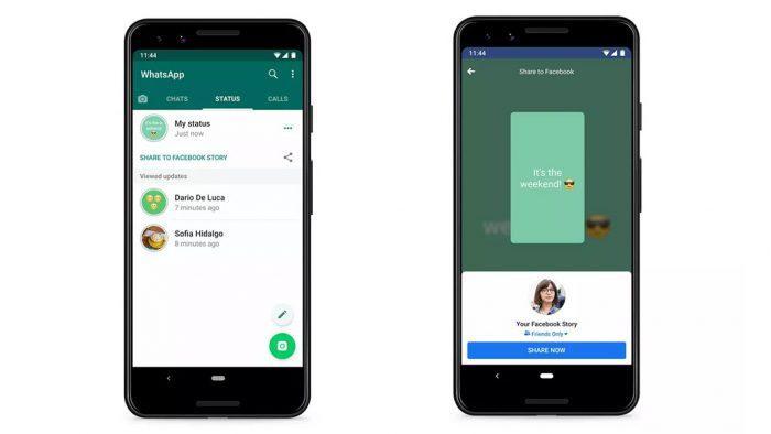 Whatsapp Testa Opção De Compartilhar Stories No Facebook E