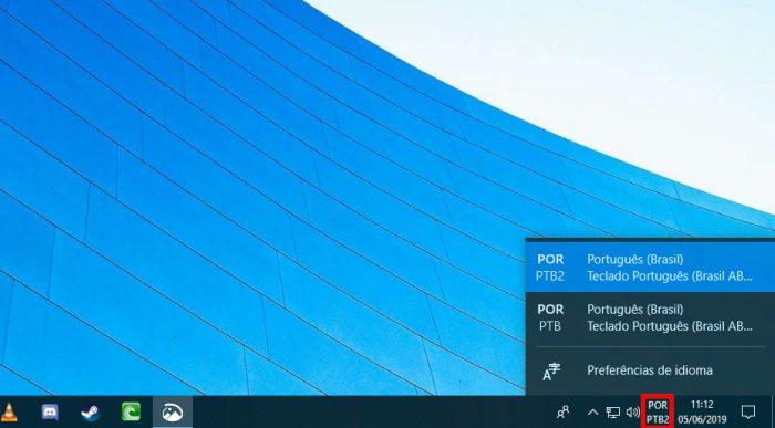 Windows 10 / opção de teclado / como configurar teclado notebook