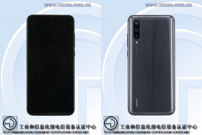 Xiaomi CC9e na TENAA