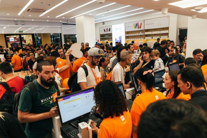 Xiaomi - inauguração de loja em São Paulo