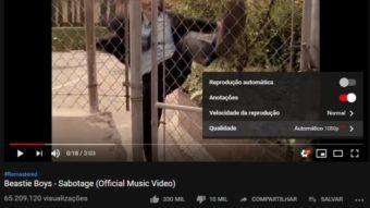 YouTube vai atualizar centenas de clipes antigos com versões Full HD