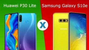 Comparativo: Galaxy S10e ou Huawei P30 Lite, qual é o melhor?