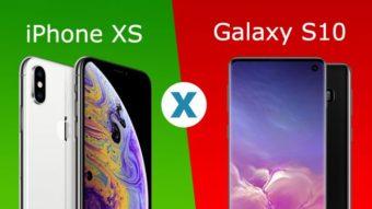 Comparativo: iPhone XS ou Galaxy S10, qual é o melhor?