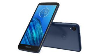 Motorola lança Moto E6 com bateria menor e sem leitor de digitais