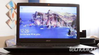 Acer Aspire 3: o notebook básico que traz chip AMD Ryzen