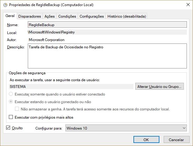 Agendador de Tarefas do Windows
