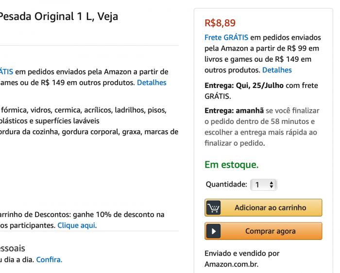 Amazon / buy box