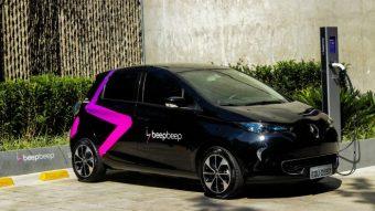 Serviço Beepbeep de carro elétrico compartilhado estreia em São Paulo