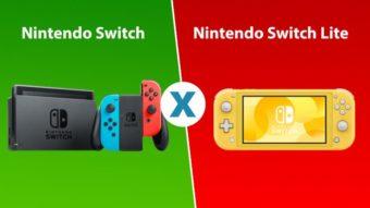 Comparativo: Nintendo Switch vs Nintendo Switch Lite [o que muda?]