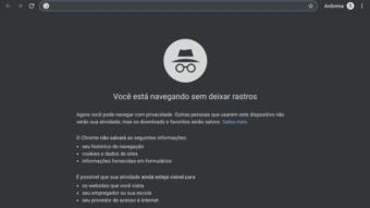 Google Chrome ainda permite identificar se você está no modo anônimo