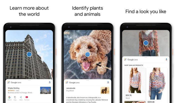 Android / Google Lens / leitor de qr code