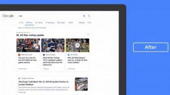 Google muda aba Notícias no PC para deixar informações mais claras