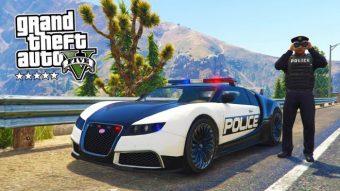 Como ser um policial no GTA 5 (V)