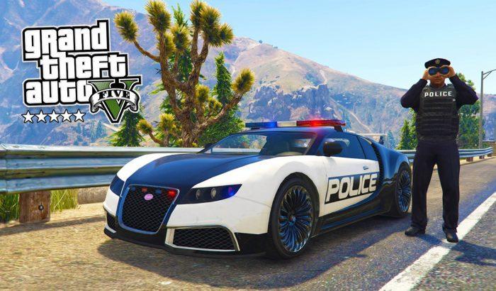 gta 5 policia