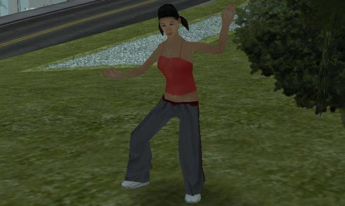 Katie / Rockstar Games / GTA San Andreas / Como ter uma namorada no GTA San Andreas