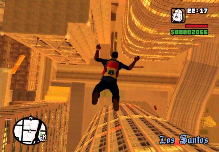 Rockstar Games / GTA San Andreas / como abrir o paraquedas no gta san andreas