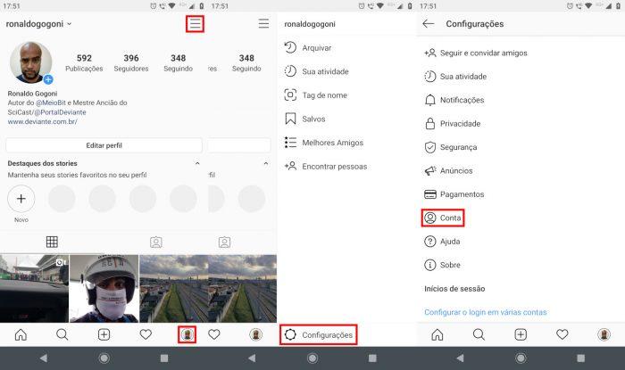 Android / Instagram / como mudar idioma instagram