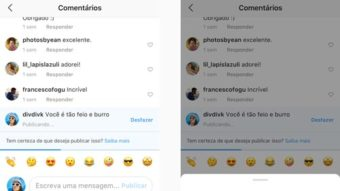 Instagram vai alertar usuários antes de enviarem comentários ofensivos