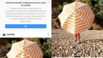 Instagram começa a esconder número de likes no Brasil