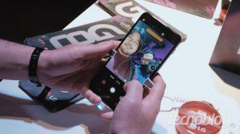 Uma olhada de perto no LG G8S ThinQ e os gestos no ar
