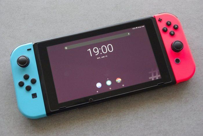 Switch rodando Android (Imagem: Reprodução/XDA Developers)