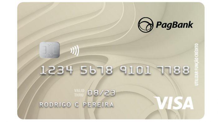 PagSeguro e cartão VIsa do PagBank